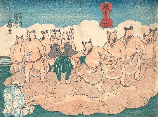 狸のすもふ TANUKI-NO-SUMOU