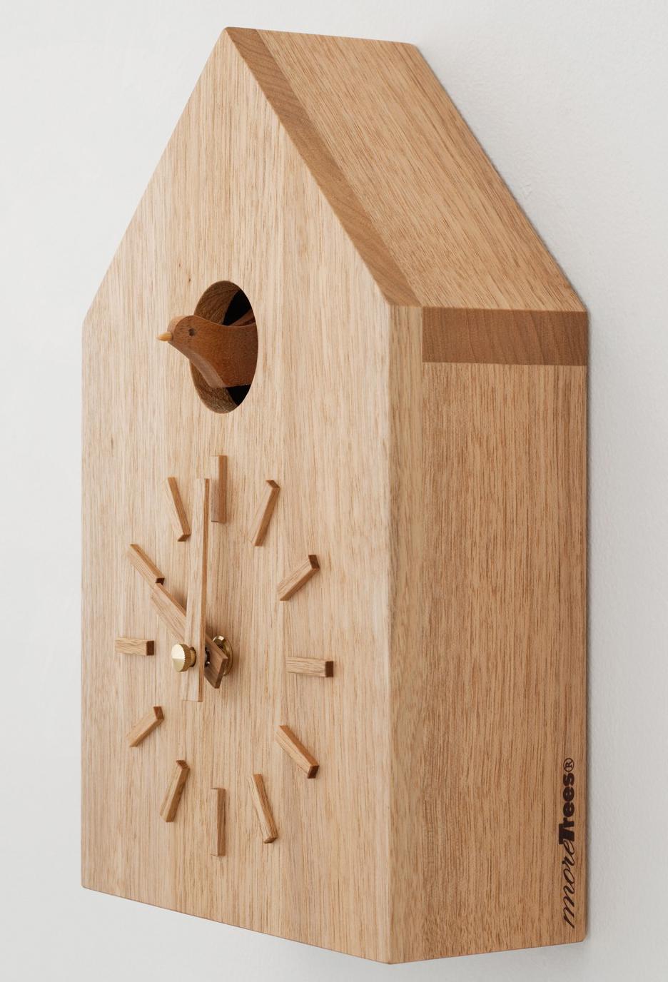 more tree 鳩時計