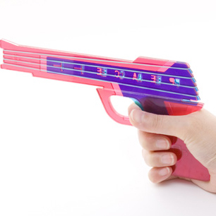 浅野泰弘氏 Peace Gun