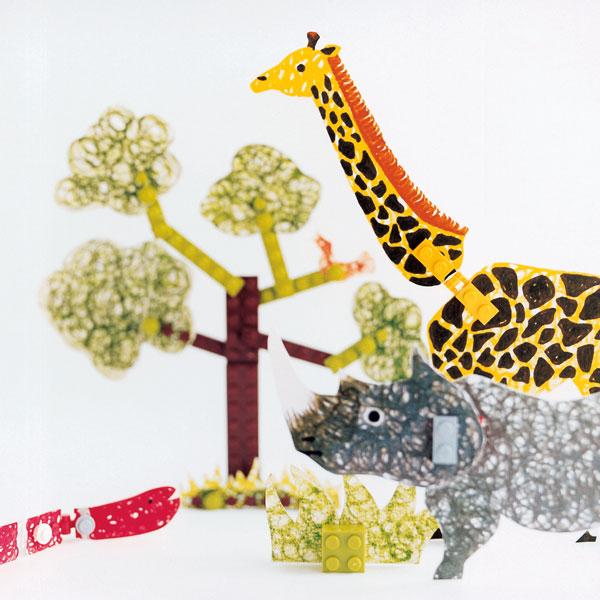 LEGO×MUJI® 紙と遊ぶレゴブロック