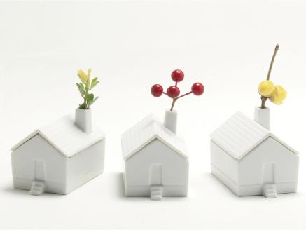 馬渕晃氏  肥前吉田焼  House for flower
