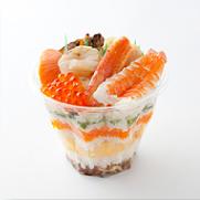 知床鮨  銀座海鮮カップ