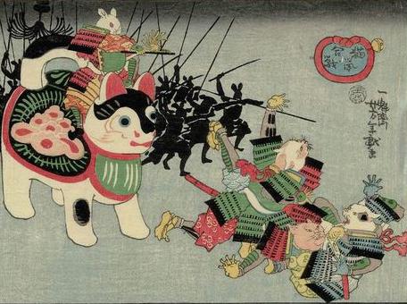 猫鼠合戦  犬張子