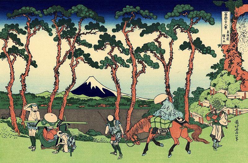 富嶽三十六景 東海道保土ケ谷