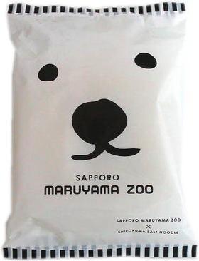 藤原製麺  札幌円山動物園白クマ塩ラーメン