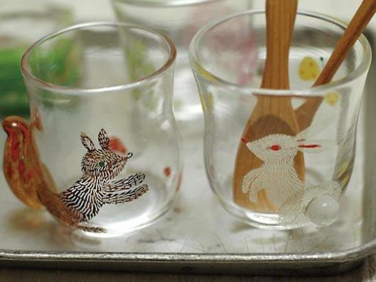 土井朋子氏  ガラスの中のどうぶつたち