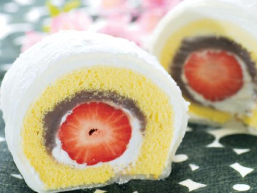 スローベリィプラス  羽二重ロールケーキ