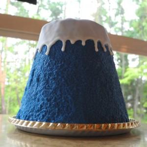 ラ・ヴェルデュール  富士山ケーキ