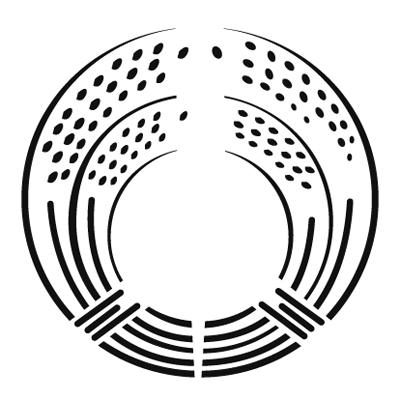 抱き稲紋 RICE PLANT