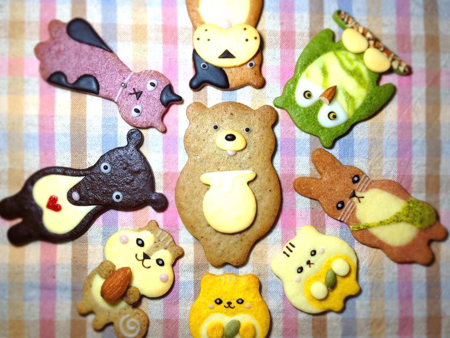 henteco  どうぶつクッキー