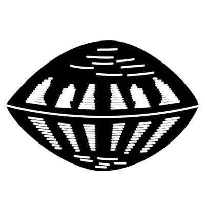 真向き蛤紋 SHELL