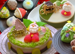 よし廣   クリスマス和菓子