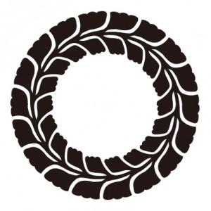 藤の丸紋 WISTERIA