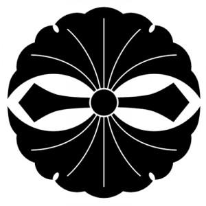 二つ剣銀杏紋 GINKGO
