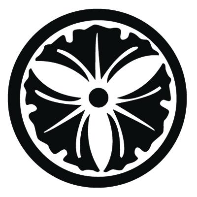 丸に三つ銀杏紋 GINKGO