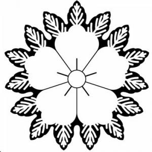 織田唐花紋 CHINESE FLOWER