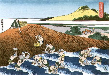 千絵の海 絹川はちふせ 葛飾北斎