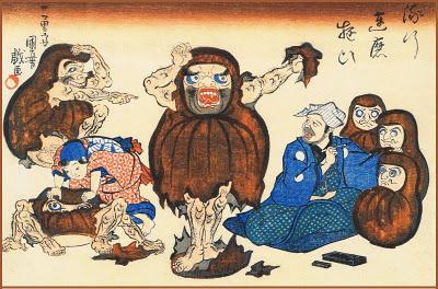 流行達磨遊び  歌川国芳