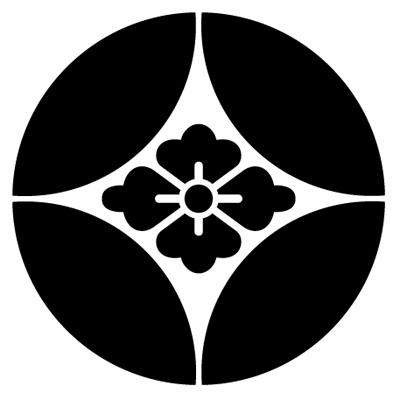 七宝に花菱紋 GEM