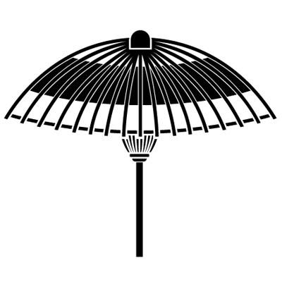 蛇の目傘紋 UMBRELLA