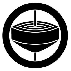 丸に一つ独楽紋 SPINNING TOP