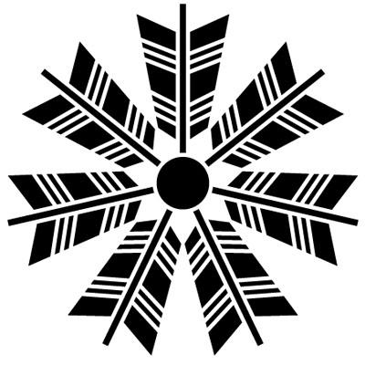 七つ矢車紋 ARROW