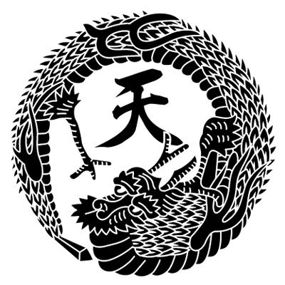 天龍の丸紋 DRAGON